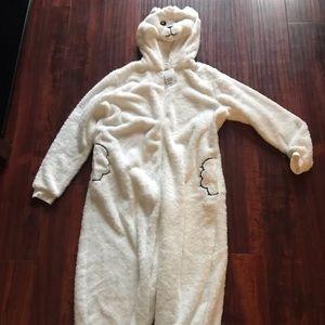 H&M adult polar bear onesie
